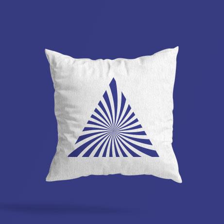 Şükür Sembollü Dekoratif Yastık| Sihirli Semboller